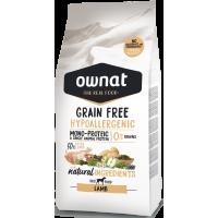 OWNAT grain free HYPOALLERGENIC jagnjetina 3kg