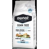 OWNAT grain free HYPOALLERGENIC losos 3kg