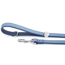 MYF Usnjeni povodec modri - 110cm