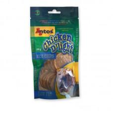 Antos Chicken D'light rice chips 100g