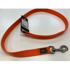 Povodec HUNTER nylon oranžni - 2,5cm/100cm