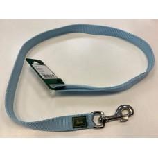 Povodec HUNTER nylon svetlo modri - 2,5cm/100cm