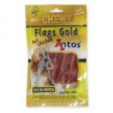 Antos Flags Gold  žvečilke - 100g