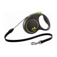 FLEXI BLACK DESIGN M zelen / 5m, vrvica