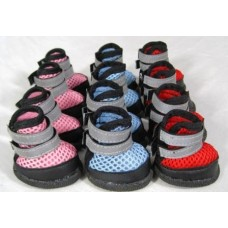 Čevlji za pse rdeči -  št.4