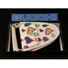 Bucchi-luxuzna torbica povodec - bela
