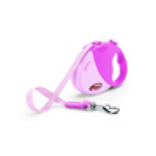 FLEXI FUNTIME pink  M - 5 m