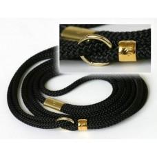 Razstavna vrvica črne barve - ¤ 5mm, dolžine 1,25m