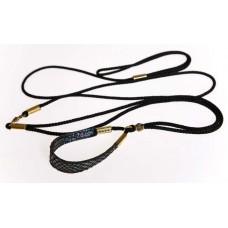 Razstavna vrvica črne barve - ¤ 4mm, dolžine 0,95m