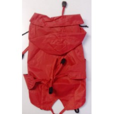 Dežni plašček rdeči - 25cm