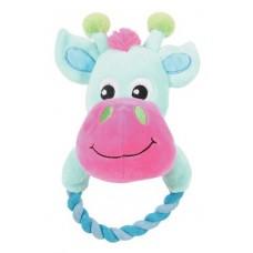 Igrača kravica z vleko 20cm
